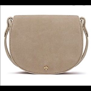 Authentic Tory Burch Saddle shoulder bag NWT